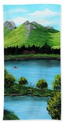 Twin Ponds Beach Towel
