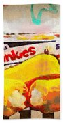 Twinkies Cupcakes Ding Dongs Gone Forever Beach Towel
