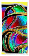 Twist And Shout 3 Beach Towel