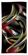 Twisted Abstract 2 Beach Towel