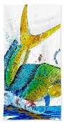 Twisted Mahi Beach Towel