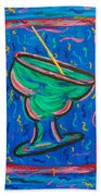 Twisted Margarita Beach Towel