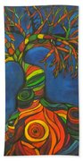 Twisted Sista' Beach Towel