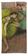 Two Dancers In The Foyer Beach Towel