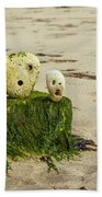 Two Faces Beach Towel