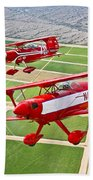Two Pitts Special S-2a Aerobatic Beach Towel