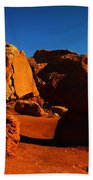 Two Rocks At Cliff Dwellers Beach Towel