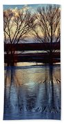 Two Trees In The Bosque Beach Towel