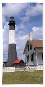 Tybee Island Light Beach Towel