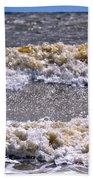 Tybee Waves Beach Towel