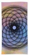 Tye Dye Spirograph Beach Towel