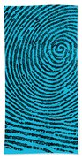 Typical Whorl Pattern, 1900 Beach Towel by Science Source