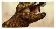 Tyrannosaurus Rex 3 Beach Sheet