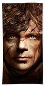 Tyrion Lannister - Peter Dinklage Game Of Thrones Artwork 2 Beach Towel