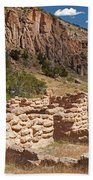 Tyuonyi Bandelier National Monument Beach Towel