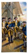U S Navy Commander In Chief Of The Fleet Beach Towel by The Werner Company