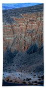 Ubehebe Crater Twilight Death Valley National Park Beach Towel