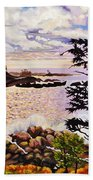 Ucluelet In December Beach Towel