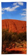 Uluru Central Australia Beach Towel