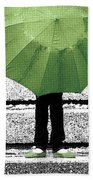 Umbrella Trio Beach Towel