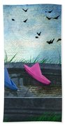 Uncharted Waters Beach Towel