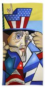 Uncle Sam 2001 Beach Towel