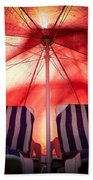 Under My Umbrella Beach Towel