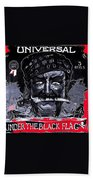 Under The Black Flag Poster 1916 Color Added 2013 Beach Towel