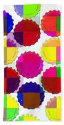 Under The Blanket Of Colors Beach Towel