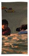 Under The Desert Sky.. Beach Towel