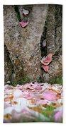 Under The Magnolia Tree Beach Towel