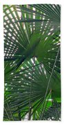 Under The Palm Tree Beach Towel