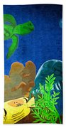 Under The Sea Mural 2 Beach Towel