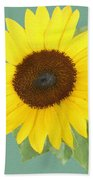 Under The Sunflower's Spell Beach Towel