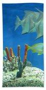 Underwater Beauty Beach Towel