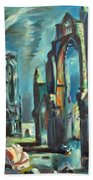 Underwater Cathedral By Chris Beach Towel