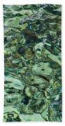 Underwater Rocks - Adriatic Sea Beach Towel