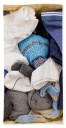 Underwear And Socks Beach Towel
