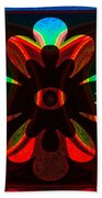 Unequivocal Truths Abstract Symbols Artwork Beach Towel