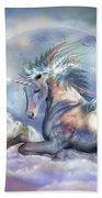 Unicorn Of Peace Beach Sheet