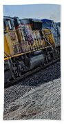 Union Pacific Southbound Beach Towel