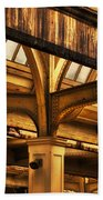 Union Station Roof Structure Beach Towel