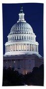 United States Capitol Building Beach Towel