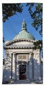 United States Naval Academy Chapel Beach Towel