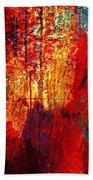 Untamed Colors  Beach Towel by Prakash Ghai