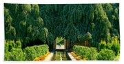 Untermyer Gardens And Park Beach Towel