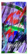 Untitled Drawing Beach Towel