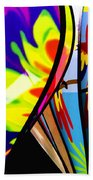 Up And Away V2 Beach Towel