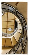 Up The Staircase Beach Towel