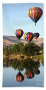 Up Up And Away Beach Towel by Carol Groenen